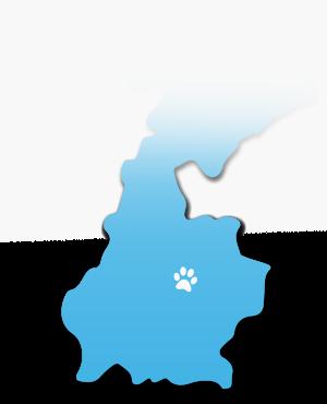 Dit is een kaart van Limburg
